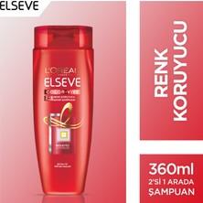 L'Oréal Paris Elseve Colorvive Renk Koruyucu Bakım Şampuanı 2'si 1 Arada 360 ml