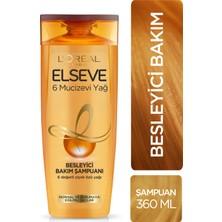 L'Oréal Paris Elseve 6 Mucizevi Yağ Besleyici Şampuan 360 Ml