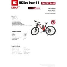 Einhell E - Bike Akülü Elektrikli Bisiklet