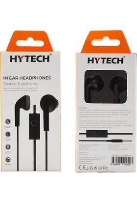 Hytech HY-XK03 Mobil Telefon Uyumlu Kulakiçi Mikrofonlu Kulaklık - Siyah