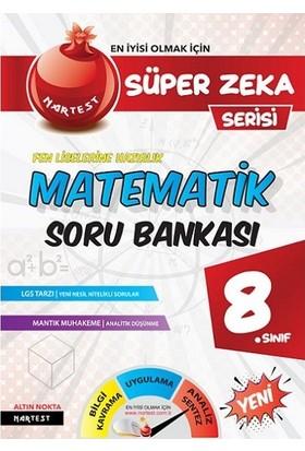 Nar Test Yayınları 8. Sınıf Matematik Soru Bankası Fen Liselerine Hazırlık Süper Zeka Serisi