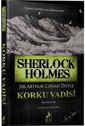 Sherlock Holmes Korku Vadisi - Sir Arthur Conan Doyle