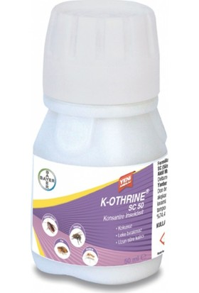 Bayer K-Othrine Sc 50 Genel Haşere Ilacı 50 ml