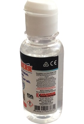 Wieberr El Dezenfektan Solüsyonu 100 ml