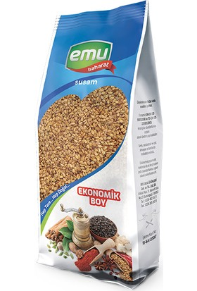 Emu Baharat Kavrulmuş Susam 1 kg