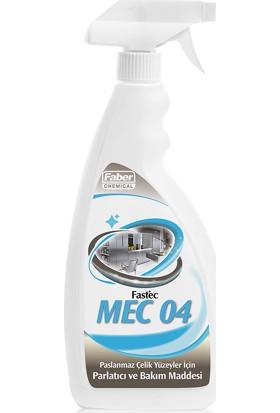 Fastec Mec 04 Paslanmaz Çelik Yüzeyler Için Parlatıcı ve Bakım Maddesi