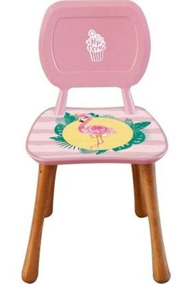 Popcorn Kids Flamingolar Aktivite Sandalye