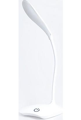 Saywin Akrobatik Şarjlı Dokunmatik Okuma Işığı Masa Lambası Beyaz