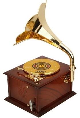 Fabess Gramafon Müzik Kutusu Nostarji
