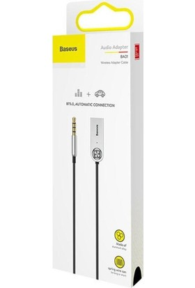 Baseus USB Wireless Bluetooth 5.0 Araç Kiti