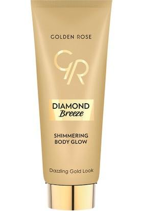 Golden Rose gr Diamond Bre Shimmering Body Glow -Işıltılı Vücut ve Dekolte Krem