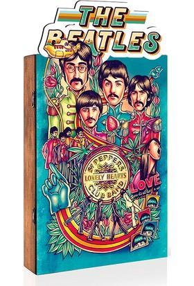 Arti2tr Dekoratif Beatles Temalı 3D Anahtarlık Kutusu