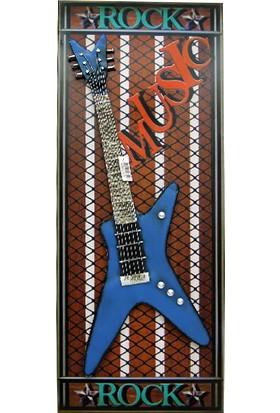 MNK Pano Mavi Gitar