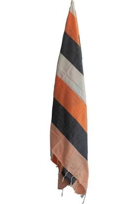Neşe Home Collection Amerikan Peştamal Turuncu