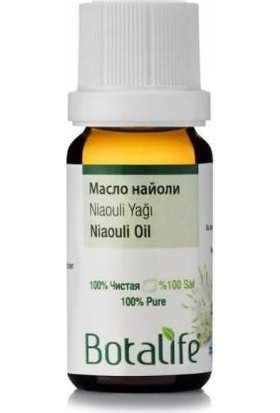 Botalife Niaouli Yağı % 100 Saf 10 ml