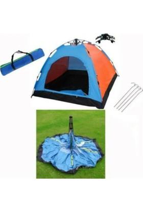 Onetick 6 Kişilik Renkli Dayanıklı Tam Otomatik Kamp Çadırı 220X250X165 Oneoto - 6