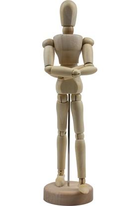 Emin İş Eğitim Ahşap Model Manken 20 cm