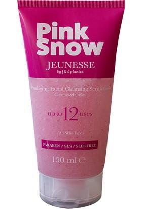 Jeuness. Pink Snow Yüz Temizleme Scrub Jeli 150 ml