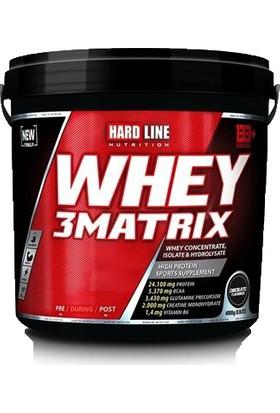 Hardline Whey 3 Matrix Protein Tozu 4000 gr Çikolata Aromalı