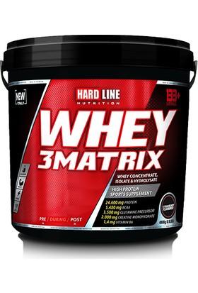 Hardline Whey 3 Matrix Protein Tozu 4000 gr Çilek Aromalı
