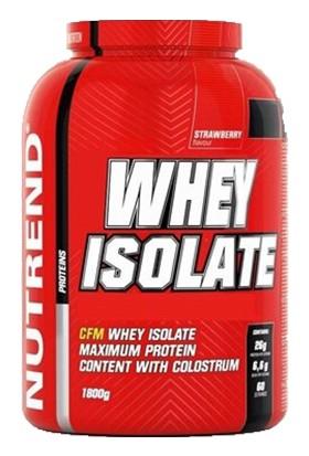 Nutrend Whey Isolate 1800 gr Çilek Aromalı
