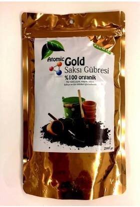 Atomic Gold Saksı Gübresi % 100 Organik 200 Gr