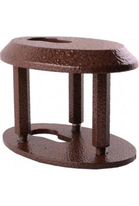 Beştaşlı Çelik Kırılmaz Rozet Oval