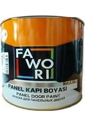 Fawori Panel Amerikan Kapı Boyası Beyaz 2,5L