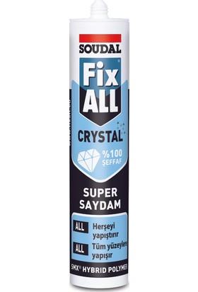 Soudal Fıx All Crystal Mastik Kartuş 290Ml
