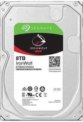 Seagate IronWolf 8TB 7200RPM 256MB Cache Sata 3 ST8000VN004