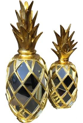 Biz Home Aynalı Ananas