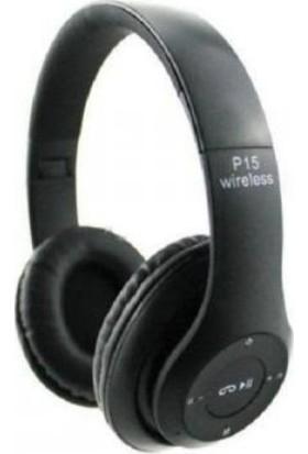 Hooptech P15 Wireless Bluetooth Kablosuz Kulaklık Mp3 Extra Bass Fm Radyo