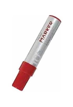 Graps C-0265K Kırmızı Kesik Uçlu Permanent Markör Kalem