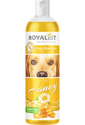 03207 Royalist Köpek Şampuanı Honey 400ML