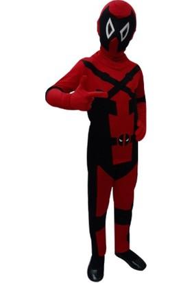 Kostümce Deadpool Kostümü Çocuk