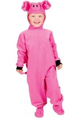 Kostümce Domuz Kostümü Çocuk