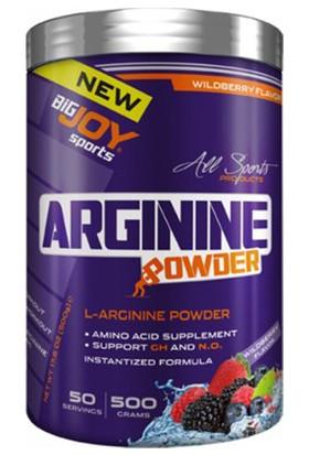 Big Joy L-Arginine Powder 500 gr Orman Meyveli