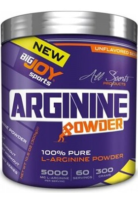 Big Joy 100 % Pure L-Arginine Powder 300 gr