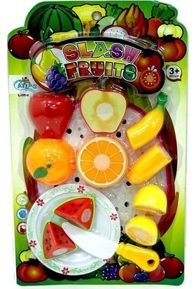 Atlas Oyuncak Meyve Kesme Oyunu 12 Parça