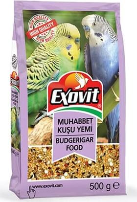 Exovit Yetişkin Muhabbet Kuşu Yemi 500 gr