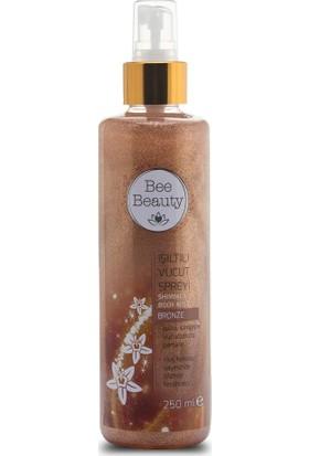 Bee Beauty Işıltılı Vücut Spreyi 250 ml Bronze