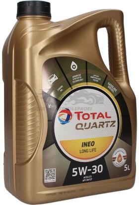 Total Quartz Ineo Long Life 5W-30 Motor Yağı 5 lt 2020 Üretim Yeni Nesil