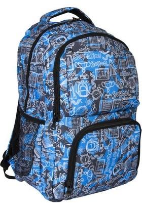 Bear & Deer Pocket Sırt Çantası School Mavi