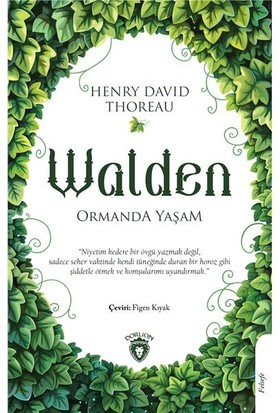 Walden Ormanda Yaşam - Henry David Thoreau