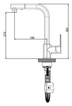GPD MES160 Pedra Spiralli Eviye Bataryası (TSEN817)