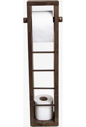 Ahşap Fabrikası Ağaç Tuvalet Kağıdı Standı 34ST5249