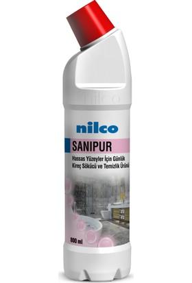 Nilco Sanipur 800 ml Hassas Yüzeyler Için Kireç Sökücü ve Temizlik Ürünü