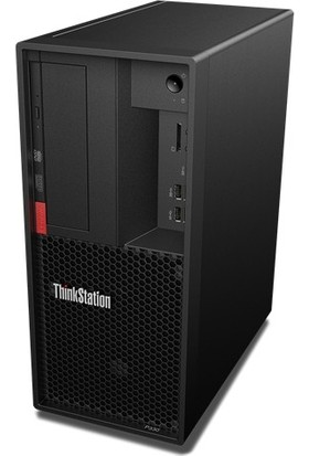 Lenovo ThinkStation P330 Intel Xeon E-2224G 16GB 1TB + 256GB SSD Quadro P1000 Windows 10 Pro İş İstasyonu Masaüstü Bilgisayar 30CY005NTX