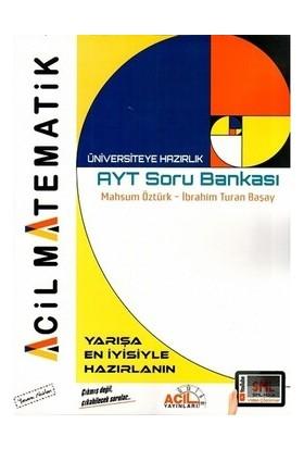 Acil Yayınları Ayt Acil Matematik Soru Bankası - Mahsum Öztürk