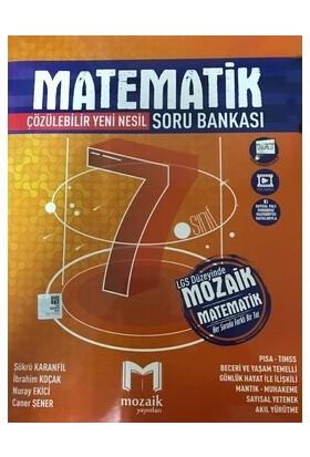 Mozaik Yayınları 7. Sınıf Matematik Soru Bankası - İbrahim Koçak